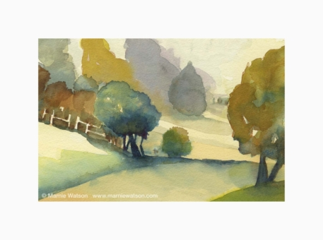 105 Approaching Autumn by Marnie Watson