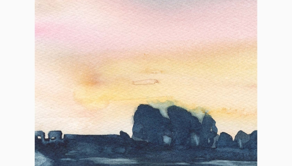 110 Evening Tranquillity by Marnie Watson