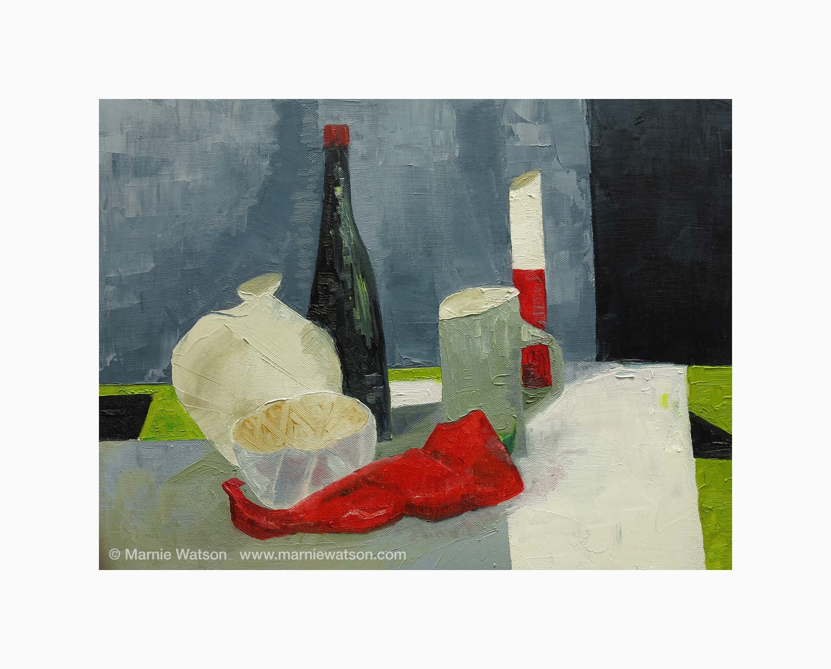 127 Still Life With Pepper by Marnie Watson