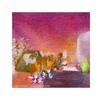 161 Mrs Brights Immaculate Garden by Marnie Watson