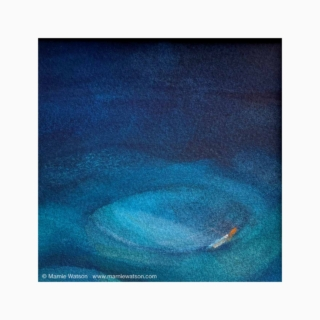 166 Dreaming In Blue 3 by Marnie Watson