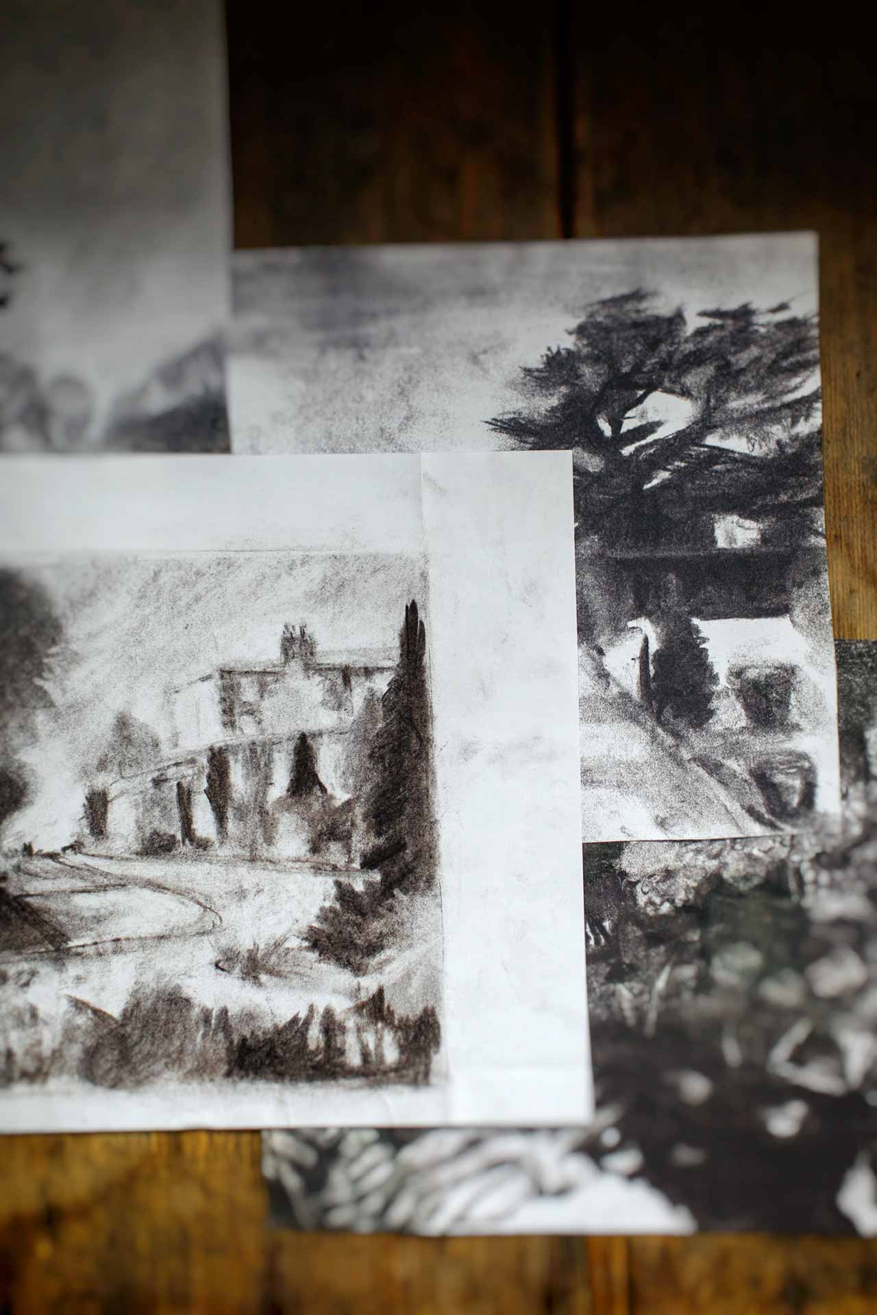Sketches and roughs